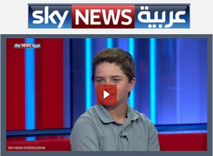 Shergo on Sky News Arabia